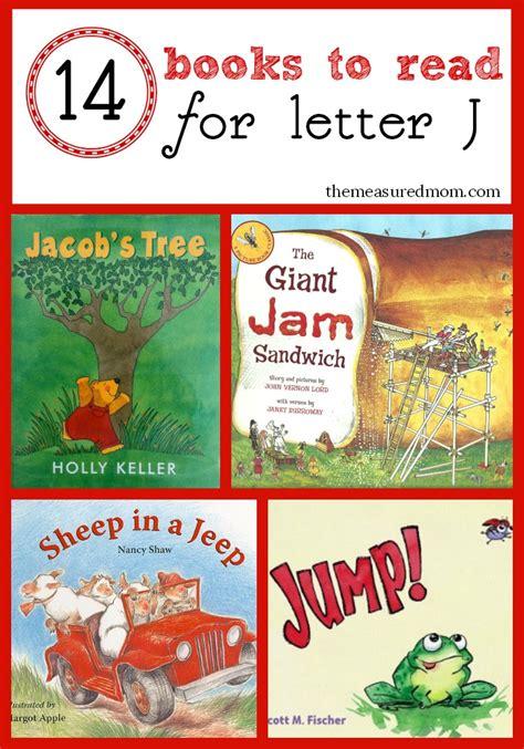 book list for preschoolers letter j books the measured 580