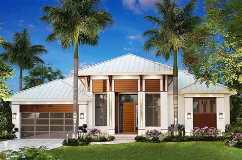 Dramatic Florida House Plan
