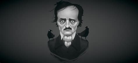 Art Spotlight Edgar Allan Poe Blendernation