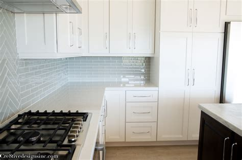 shaker cabinets lowes kitchen remodel using lowes cabinets cre8tive designs inc