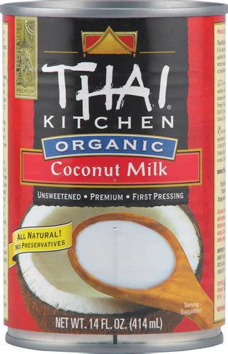 thai kitchen organic coconut milk thai kitchen organic coconut milk 737628079506 a happy lass 8446
