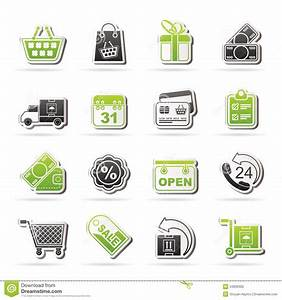 Set Online Shop : online shop icons stock photo image 34936300 ~ Orissabook.com Haus und Dekorationen