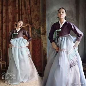 modern hanboks With hanbok wedding dress