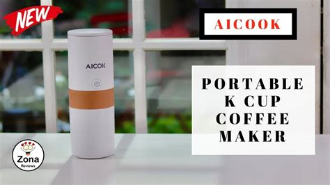 Aicok ️ Portable Travel K Cup Coffee Maker Bunn Coffee Maker 12 Cup French Press Grind Setting Cozy Cw Series Manual Nsn Round Tables With Glass Doesn't Heat Water Small Table Vintage
