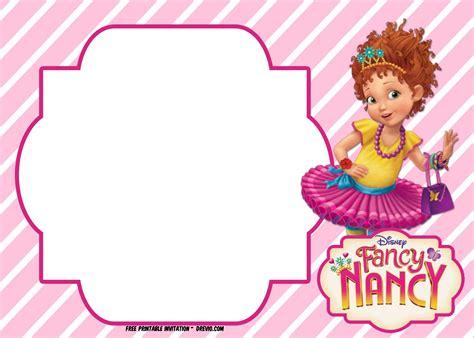 FREE Fancy Nancy Invitation Templates UPDATED DREVIO