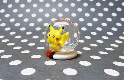 Pikachu Clay Polymer Snow Globe Handmade Deviantart