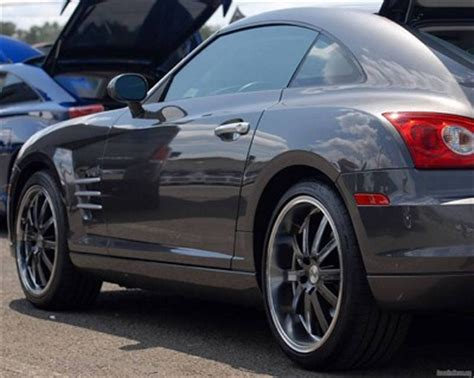 Chrysler Crossfire Rims by Rimspin 187 Post Topic 187 Chrysler Crossfire Gray Painted