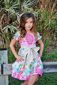 Girls Easter Dress - Spring Dress - Spring Floral Dress - Birthday Dress - Flower Girl Dress ...