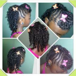 Little Black Girls Twist Hairstyles