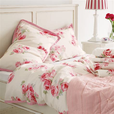 Couture Rose Cotton Bedlinen At Laura From Lauraashleycom
