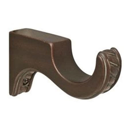 wood curtain rods allen roth and curtain rod brackets on
