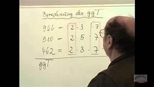 Größter Gemeinsamer Teiler Berechnen : 614 berechnung des ggt gr ten gemeinsamen teiler youtube ~ Themetempest.com Abrechnung