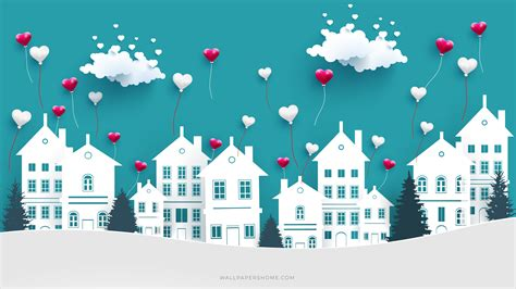 wallpaper valentines day  love image heart