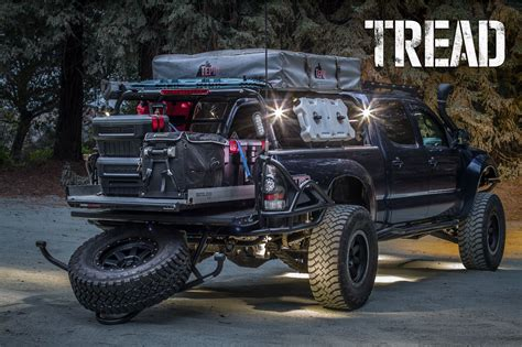 Toyota Tacoma Road Accessories by Ready For Whatever In This Fully Loaded Toyota Tacoma The