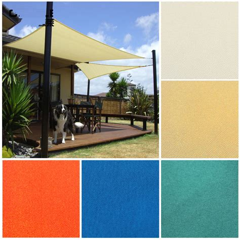 10ft Outsunny Patio Triangle Sun Sail Shade Awning Shelter