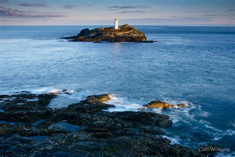 acrylic wall pictures quot godrevy lighthouse cornwall quot by cliff williams