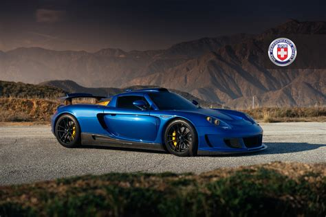 gemballa mirage 911 gemballa mirage gt goes canyon carving wearing hre