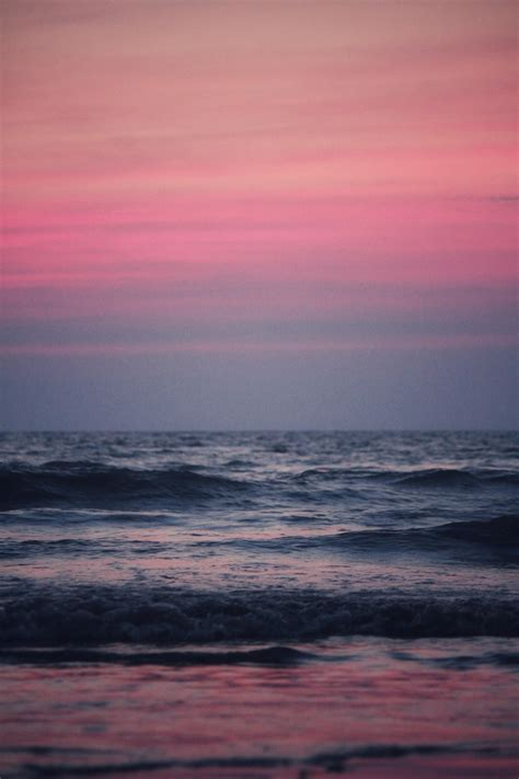 pink sea aesthetic wallpapers