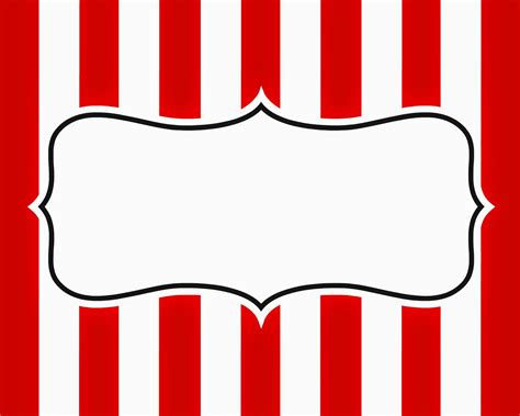 Circus Signs Template by East Coast Carnival Signage