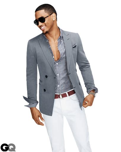 Trey Songz Shows Men How to Wear the Sports Jacket in GQ | AMARIE ADHIS