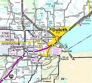 Map Of Duluth Minnesota | My blog