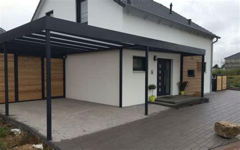 Moderne Häuser Mit Carport by Moderne Carports In 2019 H 228 User Carport Stahl