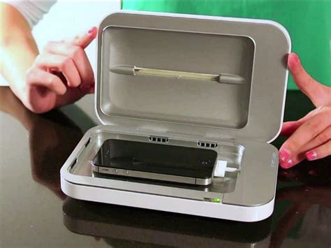 Phone Sanitizer & Charger - Oh The Things You Can Buy