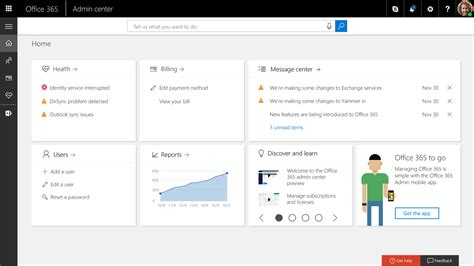 Office 365 Portal by Novo Office 365 Admin Portal Da Microsoft 4core