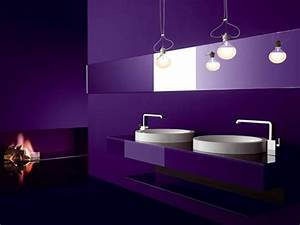 Bathroom shower panel black purple bathroom sink for Dark purple bathrooms