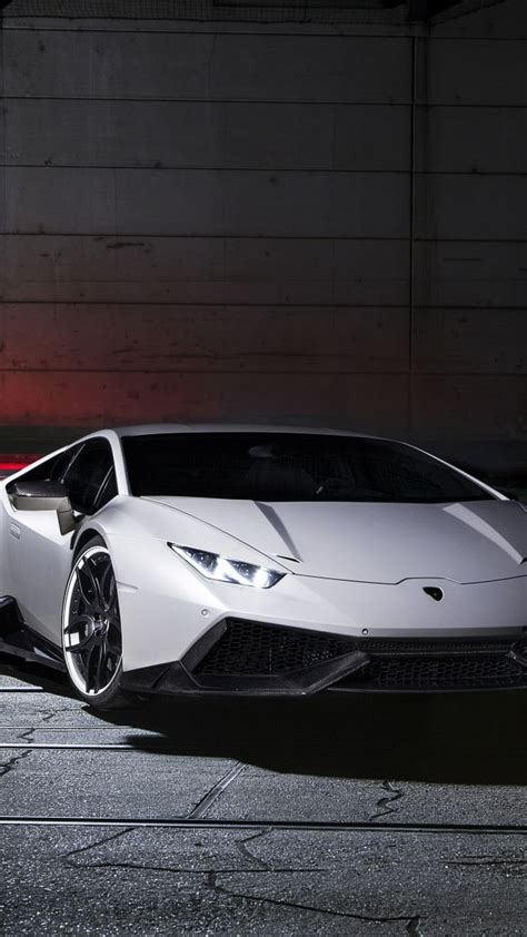 wallpaper lamborghini huracan lp  supercar white