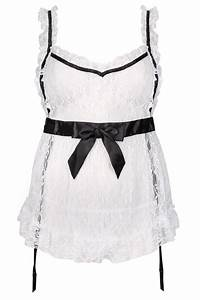 DREAM GIRL White u0026 Black Maid Outfit