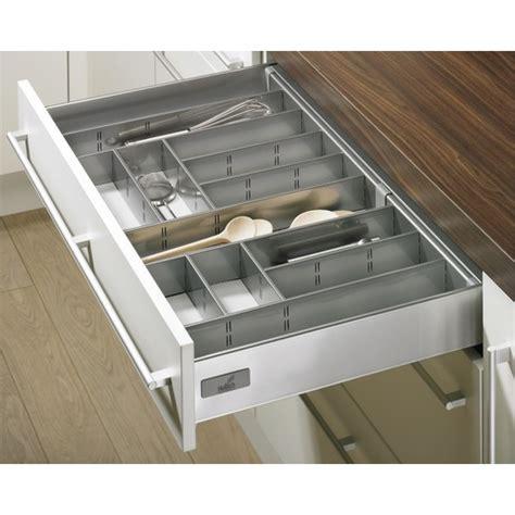 range tiroir cuisine range couverts gris innoplus pour tiroir de cuisine