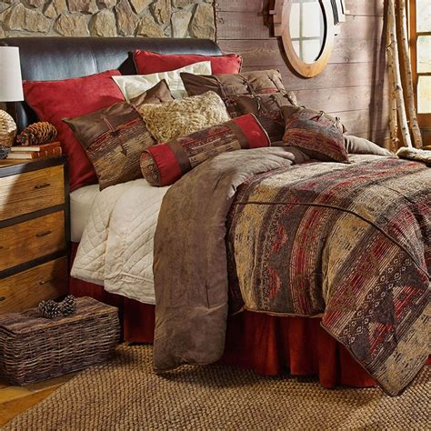 sierra southwestern chenille bedding comforter set super king