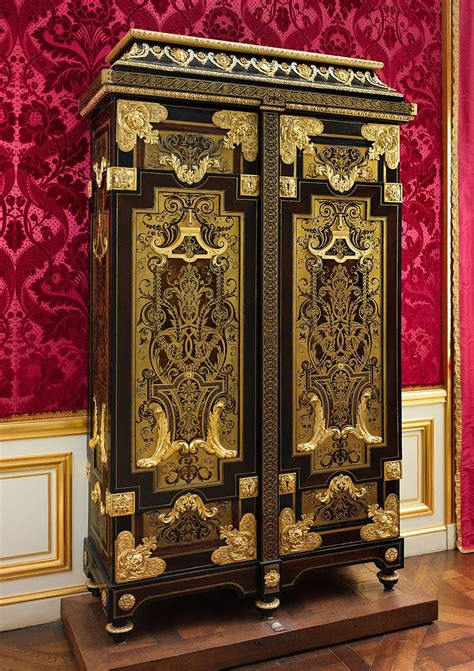 attributed  andre charles boulle cabinet french paris  met