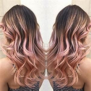 Balayage Cheveux Frisés : le balayage rose un coup de soleil dans vos cheveux actualit du 08 09 2016 ~ Farleysfitness.com Idées de Décoration