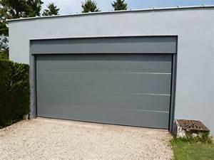 porte de garage isolante avec portillon 4 exemples de With porte de garage isolante avec portillon