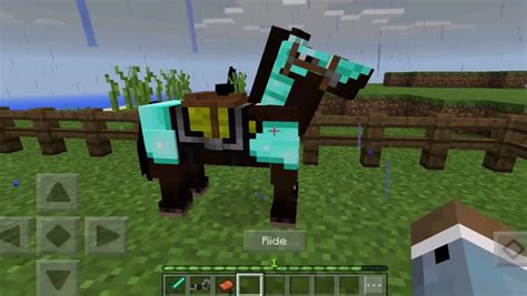 Minecraft Pe 015 Update  All The Horse Info You'll Ever