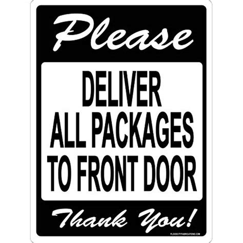 Delivery Signs: Amazon.com