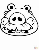Pig Coloring Pages Face Moustache Bad Piggies Foreman Drawing Mustache Printable Cylinder Graduated Print Mask Beyonce Getcolorings Pa Getdrawings Colorings sketch template