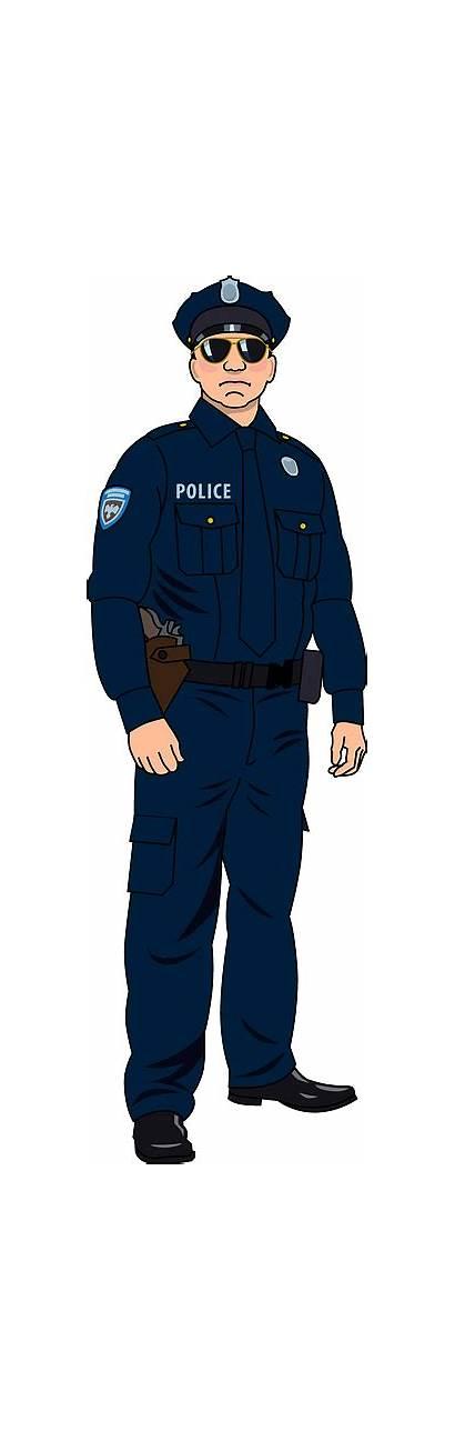 Policeman Clipart Police Officer Creazilla Transparent