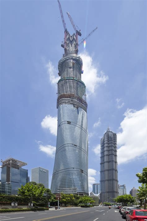Shanghai Tower Tallest Building in China e architect