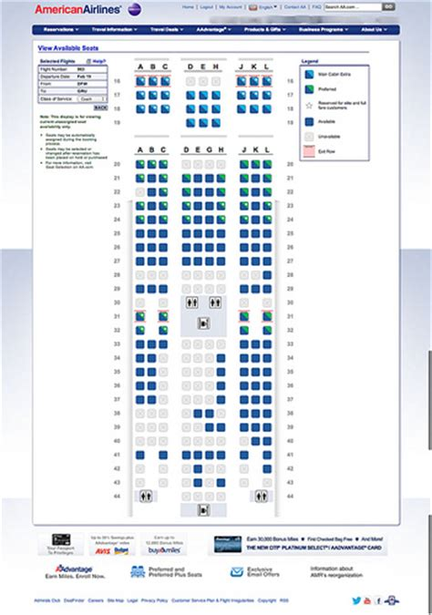 log cabin 77w y cabin seat map of airlines 777 300er