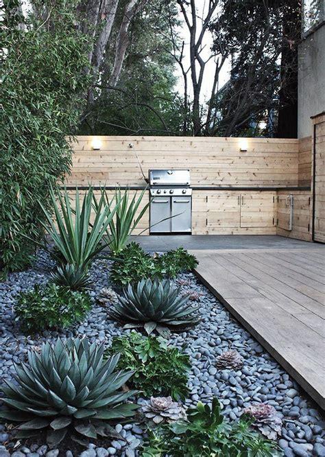 backyards ideas  simple modern  natural design  front   yard garden