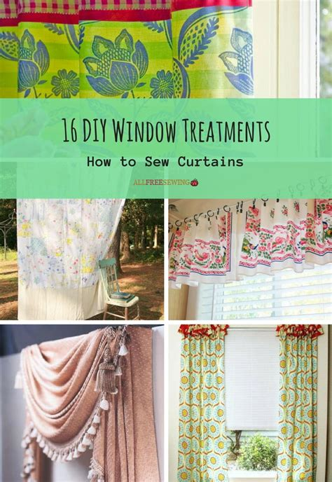 diy window treatments   sew curtains