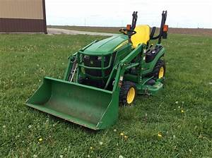 2016 John Deere 1025r - Compact Utility Tractors