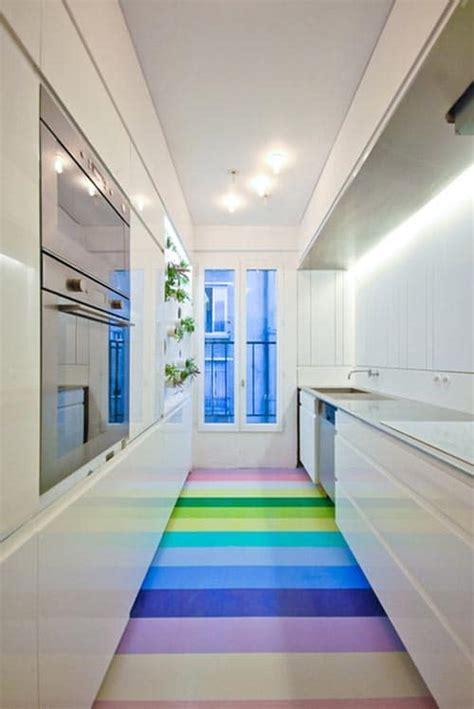 cuisine couloir aménager une cuisine linaire dans un espace couloir