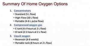 Prescribing Oxygen | The Hospital Medical Director