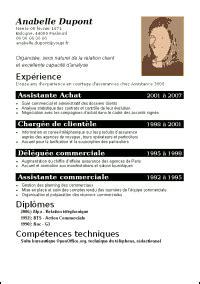 Comment Faire Un Cv En Franàçais Exemple by Modele Cv Sans Experience Professionnelle Gratuit Cv Anonyme