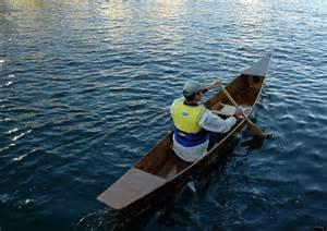 Wooden Kayak Canoe Boat