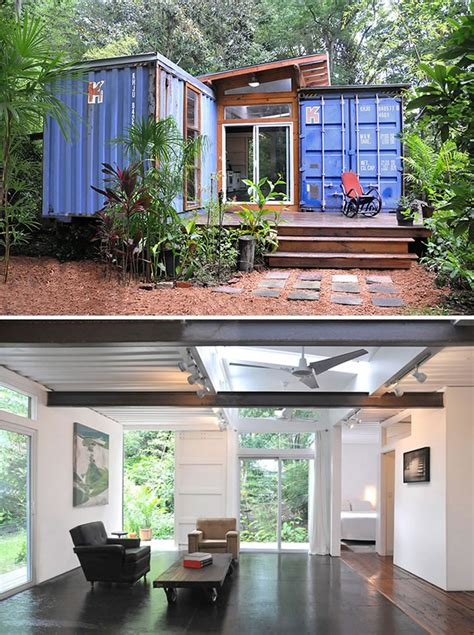 Shipping Containers Turned  Designer Homes